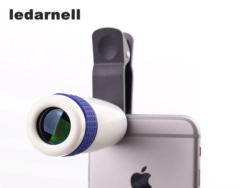 8x зум Оптический Телефон телескоп Портативный Мобильный телефон телефото Объективы для фотоаппаратов и клип
