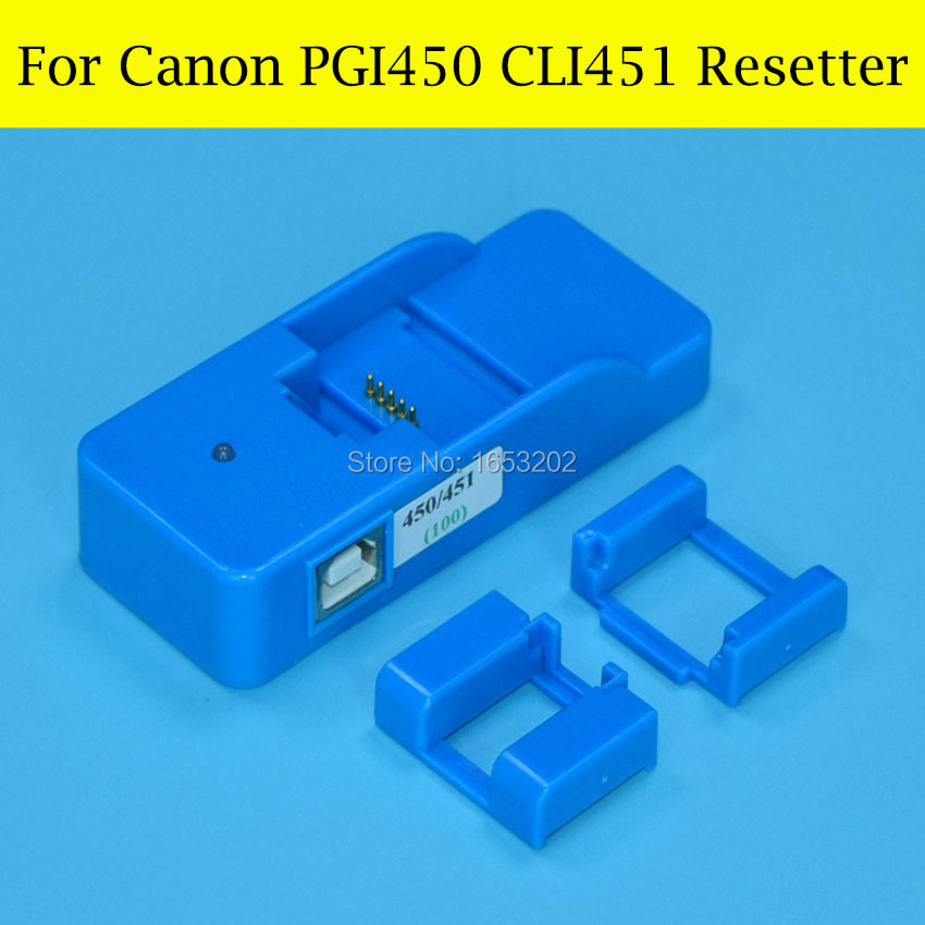 1 Piece Chip Resetter For Canon PGI-450 CLI-451 CLI-451GY For Canon iP8740 MG5640 MG6640/ MG7540 PIXMA MG6340 Printer