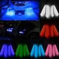 1 Шт. 4 In1 LED Зарядки для Салонов Автомобилей Свет Аксессуары Для Ног Пол Автомобиля Декоративные Новый
