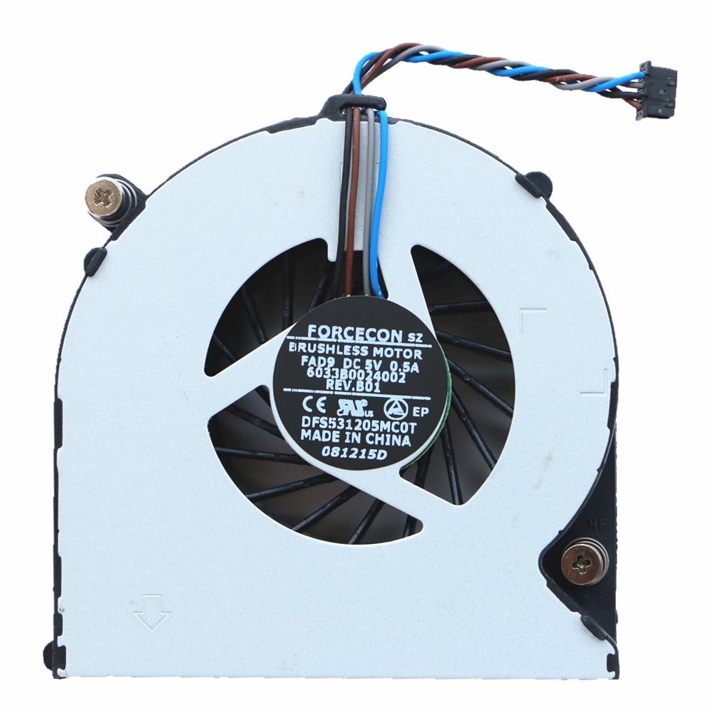HP ProBook 4530S 4535S 4730S 6460B 6470B EliteBook 8460P 8470P CPU Cooling Fan
