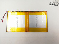 3 7V 10000mAH Polymer Lithium Ion Battery Li Ion Battery For Tablet Pc 9 Inch 10