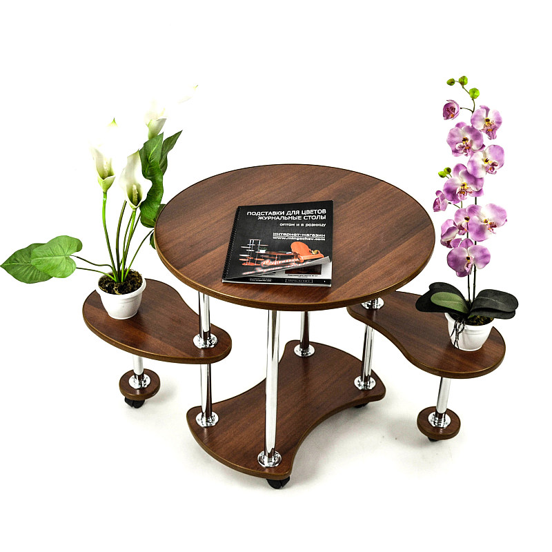 Roll-serving Table, «Fly» On Wheels. Furniture For The Living Room, Kitchen, Bedroom. Bedside\computer\kitchen Table On Wheels.