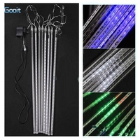 50CM 240 LED White Blue RGB Color LED Waterproof Snowfall Meteor Light Christmas Lights Outdoor 100