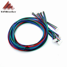 3D Printer Cables HX2.54 4P-PH2.0 6P UM2 Ultimaker 2 Extended + Stepper Motor Cable Wholesale Top Quality.