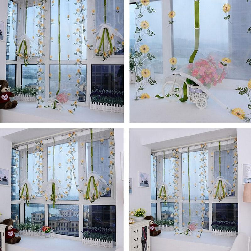 per soggiorno camera da letto cucina pannello tendaggi e trattamenti di finestra tende 4 grucce