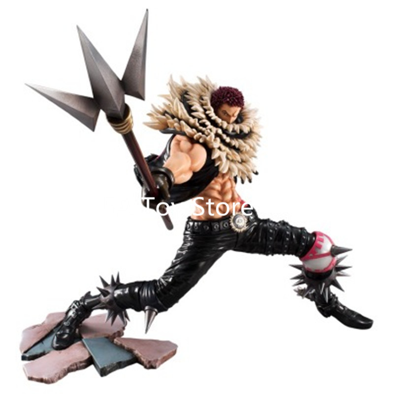все цены на Anime One Piece Portrait Of Pirates SA-MAXIMUM Charlotte Katakuri PVC Action Figure Collection Model Toys Doll Brinquedos Gift