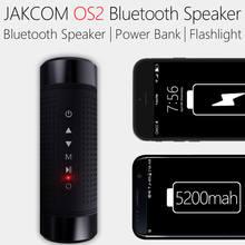 Jakcom OS2 Extérieure Bluetooth Haut-Parleur Multi-Fonction Sport Stéréo Sans Fil Bluetooth Haut-Parleur avec LED lampe de Poche 5200 mAh TF FM