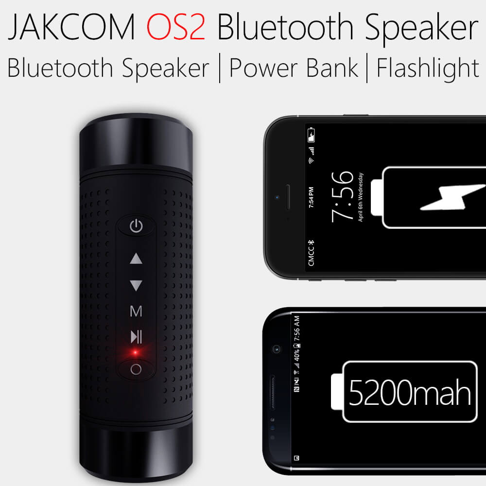 Jakcom OS2 Outdoor Bluetooth Speaker Multi Function Sport Stereo Wireless Bluetooth Speaker with LED Flashlight 5200mAh TF FM