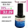 2015 nova 14 ML Nail Art Soak Off cor UV Gel 0.5 floz etanol obligomer de secagem rápida mais duradoura seca