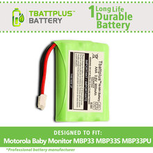 900mAh Replacement Battery for Motorola Baby Monitor MBP33 MBP33S MBP33PU MBP36 MBP36S MBP36PU