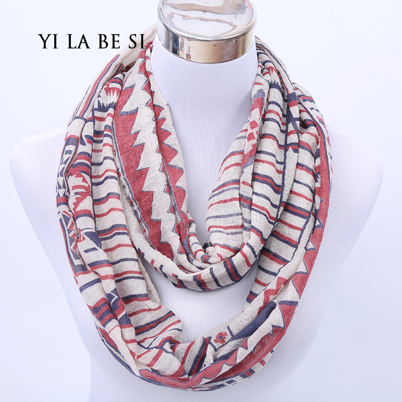 Designer Brand Fashion Infinity Scarfs Winter Warm Plaid scarf Tube font b Tartan b font muffler