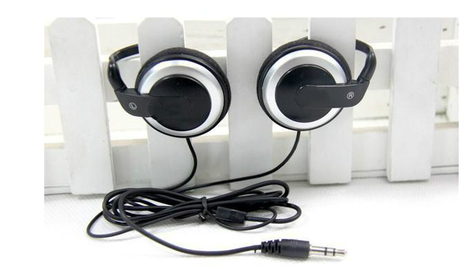 Q50 ear hook headset music earphone headphone without mic for phone