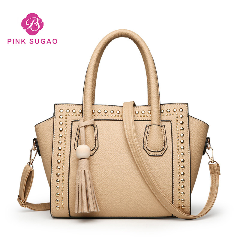 Pink Sugao Designer Women Handbags Luxury New Fashion Leather Shoulder Bags Famous Brand Crossbody Bags Large Capacity Tote Bags