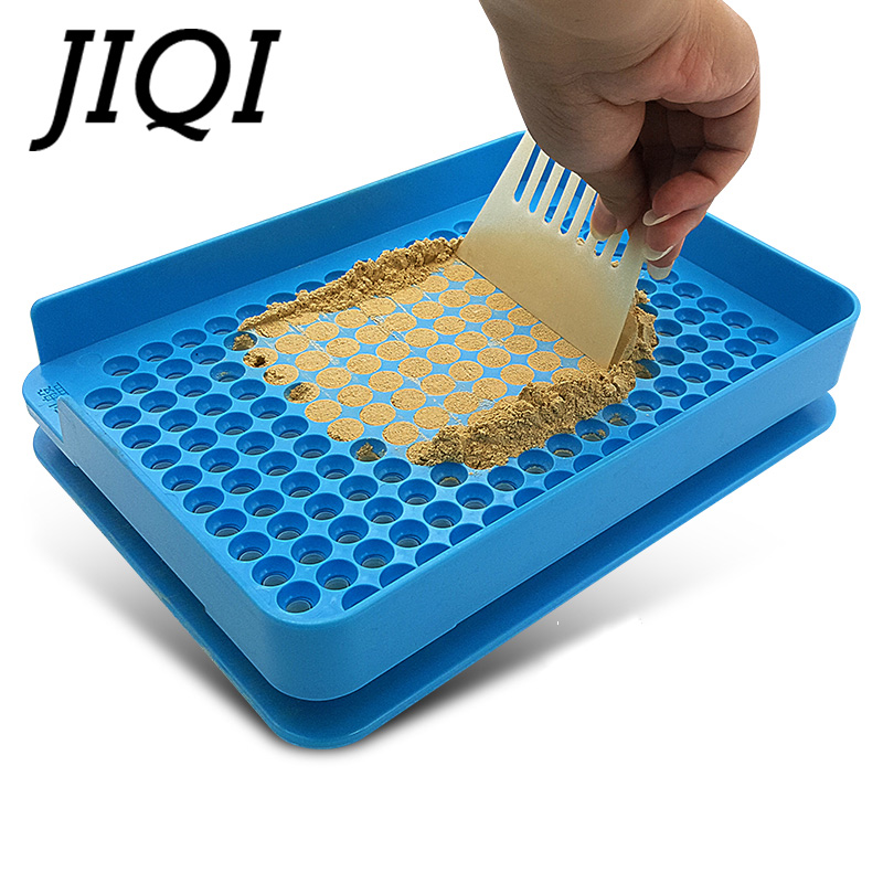 JIQI 200 Holes Manual Capsule Filling Machine #0 Pharmaceutical Capsules Encapsulator DIY medicine pill powder Filler Size 0