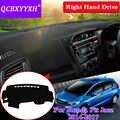 Для Honda Fit Jazz 2014-2017 правым приводом коврик для приборной панели защитный интерьер Photophobism коврик тент подушка для стайлинга автомобиля