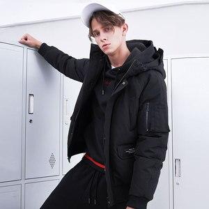 Image 2 - Pioneer camp novos homens jaqueta de inverno marca roupas moda grosso quente casaco masculino de alta qualidade parka masculino preto verde amf801453