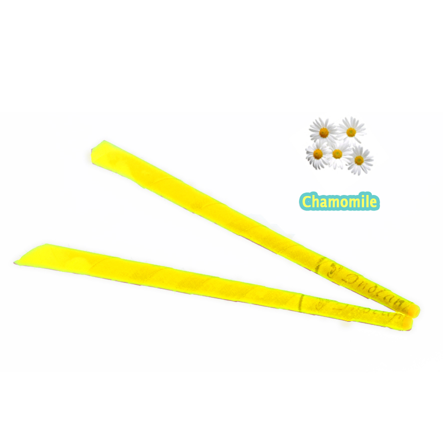 Image 2 - 51 pairs/lot,Chamomile natural trumpet beewax ear candle with protective disc,Without Burning Smoke +CE approval,freeshipping-in Ear Care from Beauty & Health