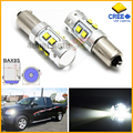 2pcs High Power 50W Extreme Bright 10-CRE E XB-D BAX9S H6W LED Bulbs For Car Parking Light,Backup Reversing Brake Lights Bulb