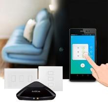 Broadlink Smart Home Wireless Wifi Remote Control Kit TC2 Smart Light Switch Wireless Control Controller Rm Pro+ Home Automation