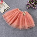 Tutu Skirts For Children Baby Toddlers Clothes Lace Mesh Solid Colors Short Multilayer Lovely 2017 Girls Costume