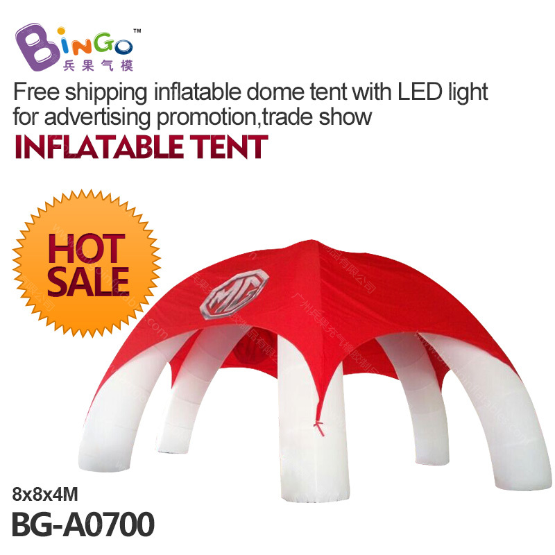 inflatable dome tent with LED light   for advertising promotion,trade show,logo can be customized toy tent freeship oem usb tp rs485 usb smart700 plc cable for tp177a 277 170micro usbtprs485 support win7 8 usb tp rs485