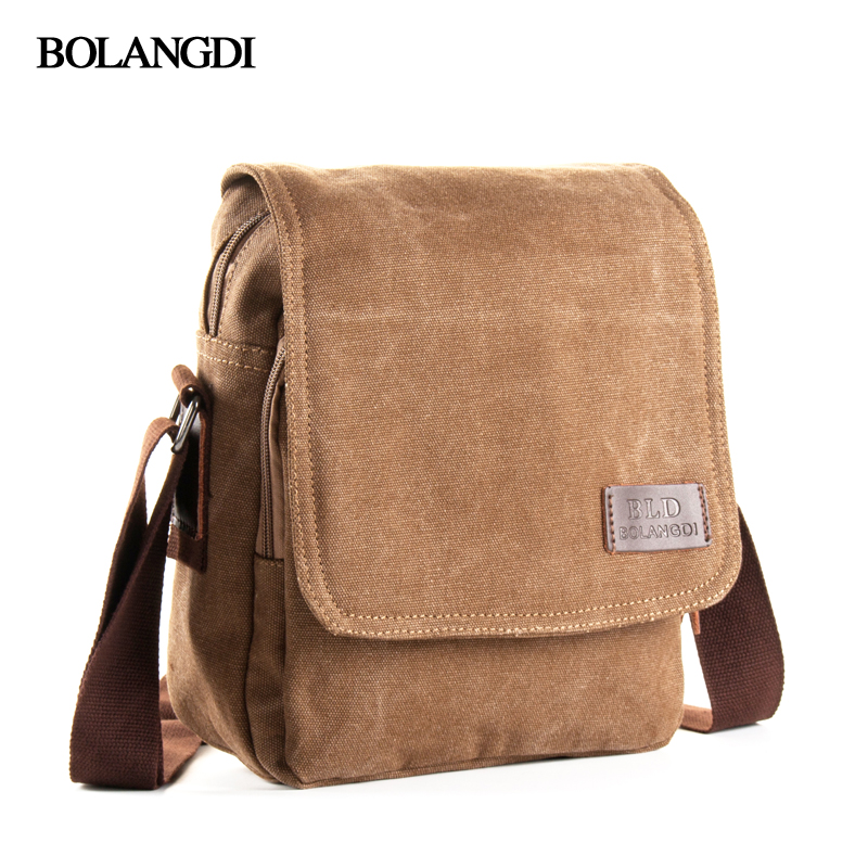 Casual Business Satchel Men's Messenger Bag Fashion Travel Crossbody Bags Male High Quality Canvas Single Shoulder Bag for men aerlis brand men handbag canvas pu leather satchel messenger sling bag versatile male casual crossbody shoulder school bags 4390