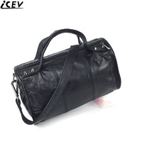 ICEV New 2018 Designer Handbag High Quality Genuine Leather Boston Bags Handbags Women Famous Brands Shoulder