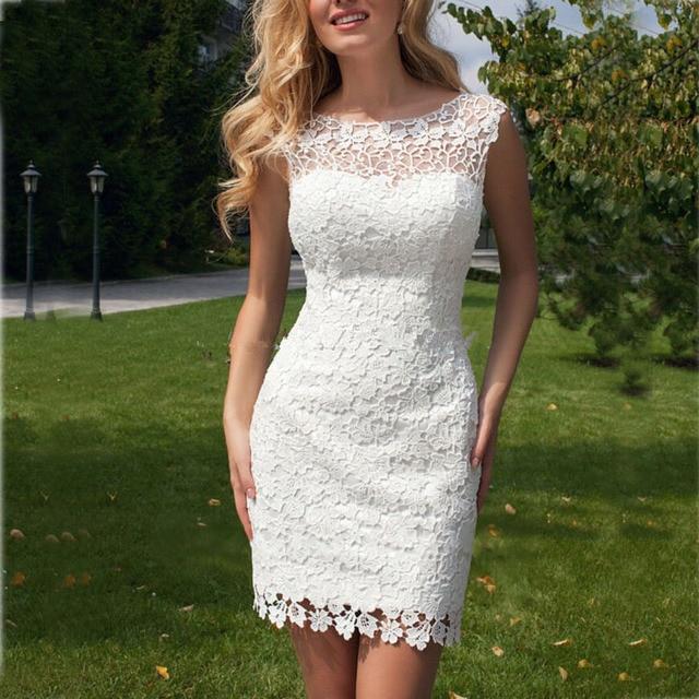 vestidos de noiva 2017 vestido de novia de encaje sin espalda