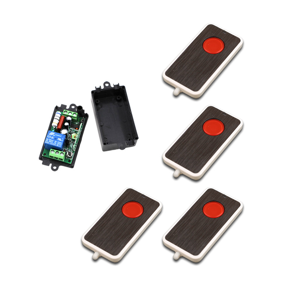 220V RF wireless Remote Switch System Remote Control Switch Transmitter+ Receiver AC 110V 10A Relay 1CH 315MHz 433Mhz to4rooms стул antrefort