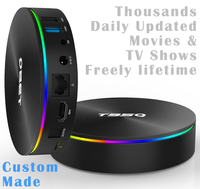 Custom Made S905X2 A53 Quad core 4K Android TV Box 4GB Ram 32GB/64GB Thousands Daily Autoupdated Movies & TV Shows Free Lifetime