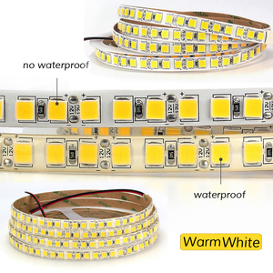 Image 3 - 5M 600 LED 5054 LED Strip Light Waterproof/Non Waterproof DC12V Ribbon Tape Brighter Than 5050 Cold White/Warm White/Ice Blue