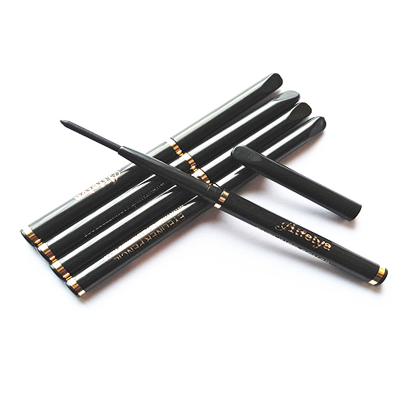 все цены на 1PCS Makeup Waterproof Retractable Rotary Eye Shadow Eyeliner Pen long lasting Eye Liner Pencil Cosmetic Tool #333