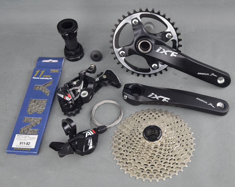 original Ltwoo 11 speed  transmission kit bicycle derailleur mountain bike compatible m8000 derailleurs sets ноутбук dell vostro 3568 3568 0407 3568 0407