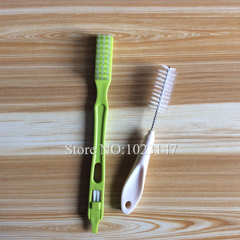 2 piece/lot Hurom Slow Juicer Spare Parts Cleaning Brush replacement for HU-600WN hh-sbf11 hu-19sgm etc. diy tofu mold hurom juicer spare parts replacement for hu 19sgm hh sbf11 hu 600wn hu 100plus and all hurom slow juicer