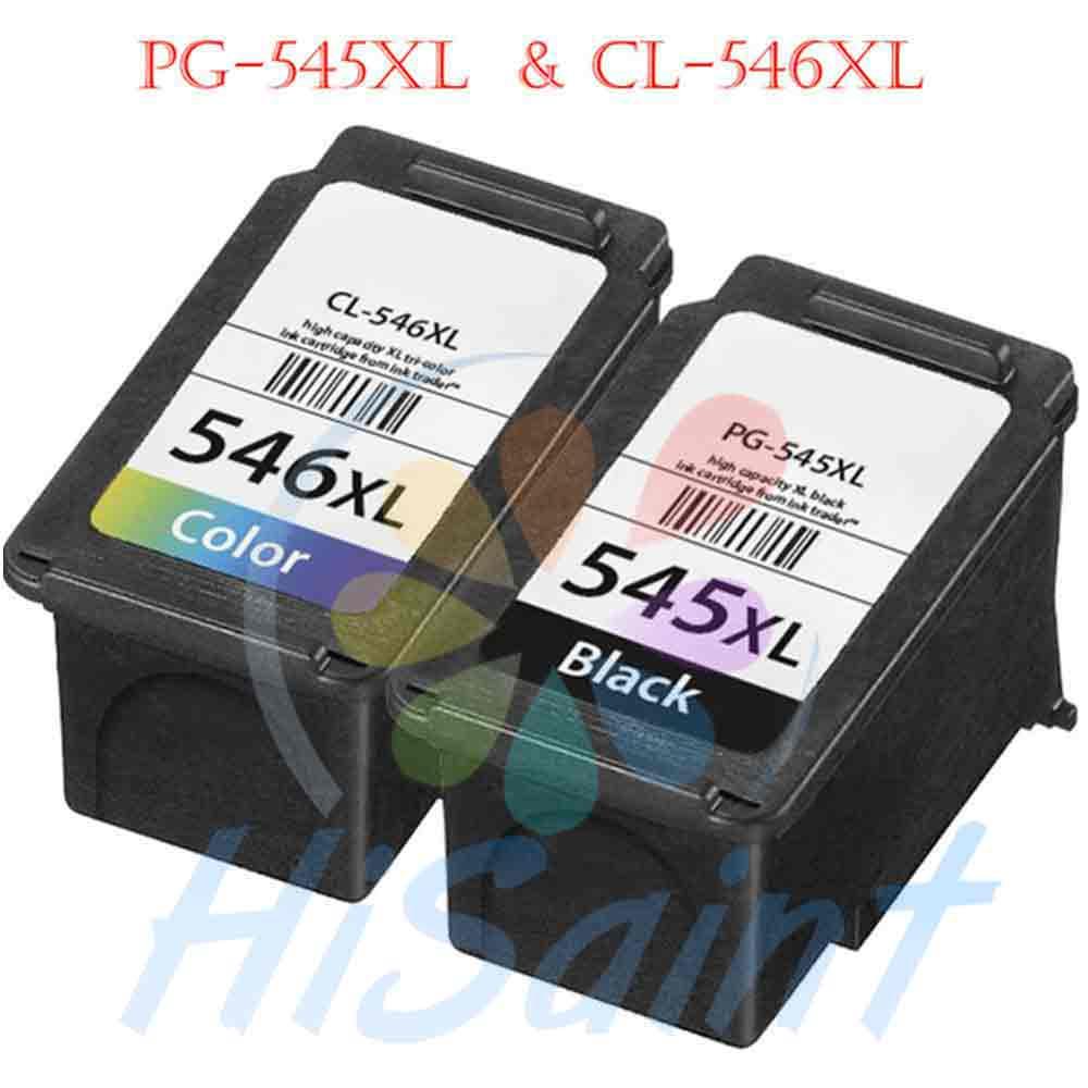 Hisaint pour Canon PG-545 CL-546 cartouches d'encre PG 545 CL 546 pour Canon PIXMA MX495 imprimantes livraison gratuite
