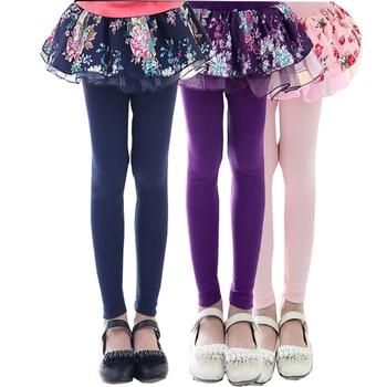 Girls Floral Printed Leggings