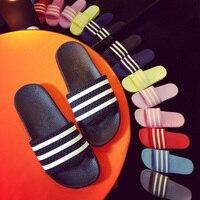 2016 candy colors summer women men flip flops femmes sandals womens massage beach slippers black white.jpg 200x200