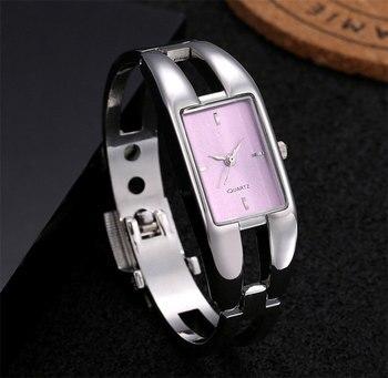 Ρολόι Γυναικείο Πολυτελείας Χειροπέδα Από Ανοξείδωτο Χάλυβα Ρολόγια Gadgets MSOW