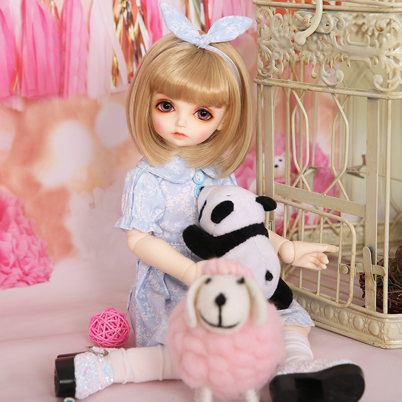 RL Doll RL Holiday Miu bjd sd doll 1/4body model boys or girls bjd doll oueneifs High Quality resin toys free eye beads  shop 2