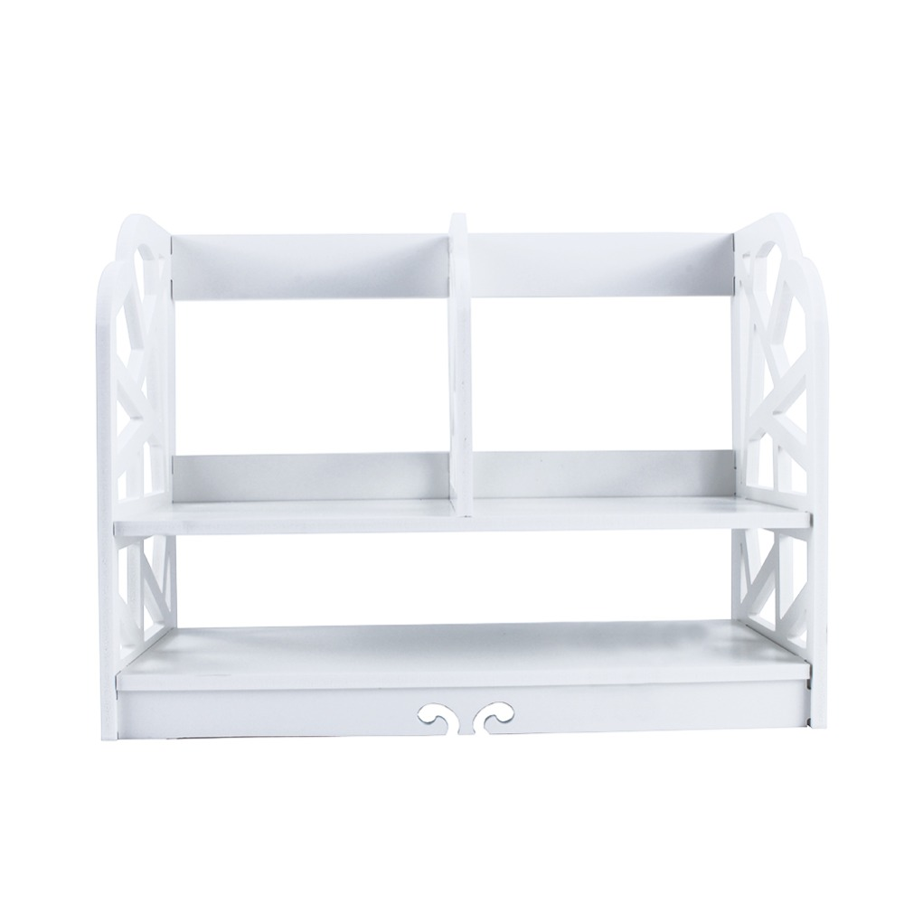 2 Tiers DIY Shelving CD Book Storage Box Unit Display Bookcase Shelf ...