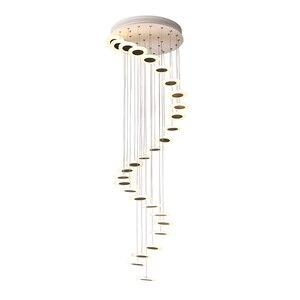 Image 5 - Modern LED avize oturma odası kolye lamba yatak odası armatürleri merdiven asma işıklar restoran asılı aydınlatma armatürü