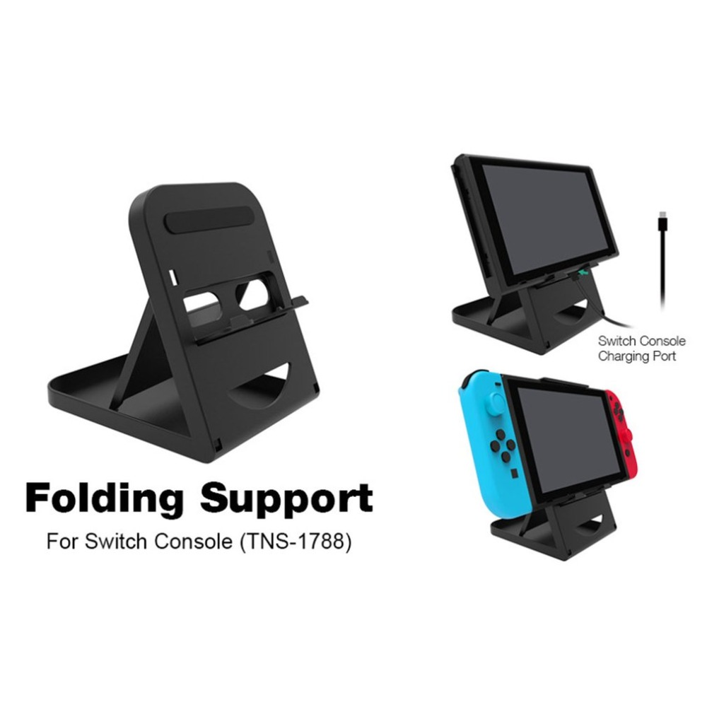 For Nintendo Switch Portable Height Adjustable Holder Support Frame Bracket Compact Playstand Desktop Stand Bracket For NS Host