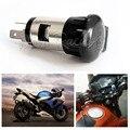 12V-24V 120W Motorcycle Car Cigarette Lighter Power Socket Plug Outlet Waterproof Cover Hard Metal Power Supply For Motorbike