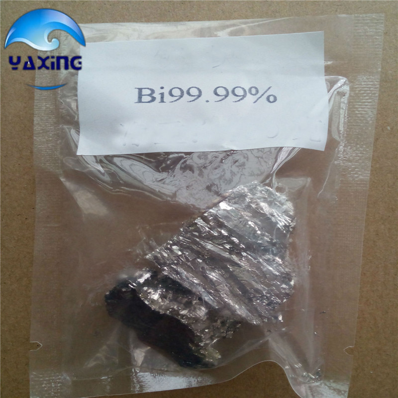 Bismuth Bi Metal Lumps Ingot 100g High Purity 99.99% bismuth crystals bismuth metal bismuth ingot 1000g high purity 99 995% free shipping