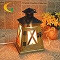 Lámpara de cristal de sal del himalaya lámpara de mesa dormitorio s de luz ajustable lámpara de noche creativo moda Eur Libro Luces