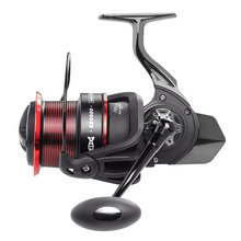 LINNHUE 4.9:1 Spinning Wheel Fishing Reel ES9000 ES10000 ES11000  Metal Body Carbon Fiber Drag 18KG Long shot