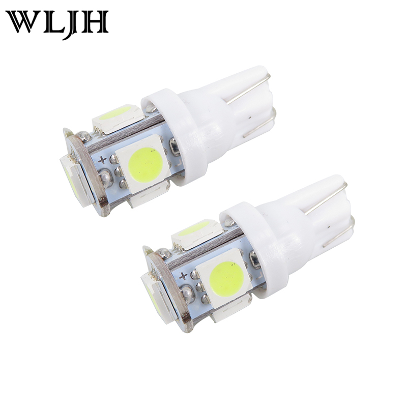 WLJH 6x White Led 31mm DE3175 W5W T10 Led Dome Map Licence Plate Light Package Kit For Kia Rio 2003 2004 2005 & Forte 2010 2011