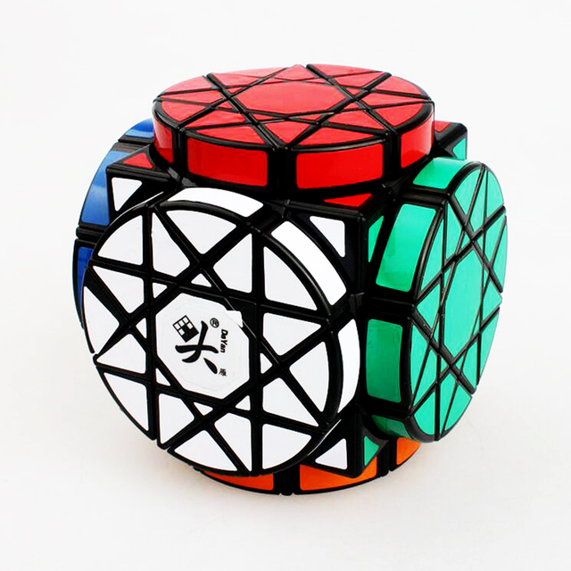 Steering Wheel Strange Shape Magic Cube Educational Speed Square Stress Reliever Puzzle Cube Brain Teaser Toys for Children Boy