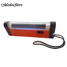 Hand-Held 320-365NM Wavelength Ultraviolet Diagnostic Wood Lamp UV skin analyzer +flashlight function цена