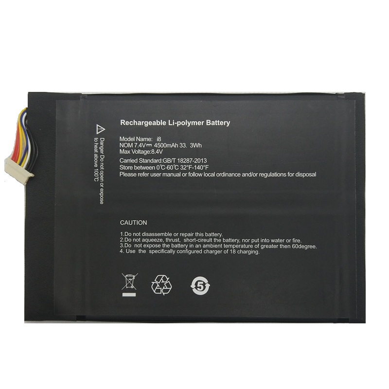7 4V Replacement Battery 4500mAh for Cube I7 Handwritten MIX PLUS font b Tablet b font